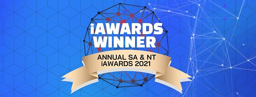 iAwards winner Annual SA & NT iAwards 2021